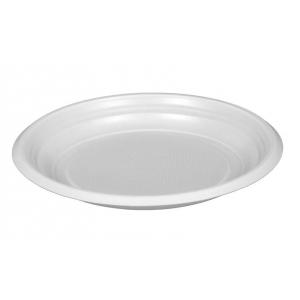 Тарелка 170мм десертная пластик белый