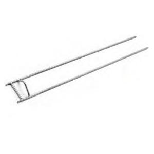 Шампур для гриля для кур GV-24/28, GV-35/42, GV-48/56, GV-70/84 (MAN), полезная длина 620мм, двойной