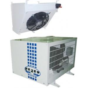 Сплит-система морозильная, для камер до  40.00м3, -15/-25С, крепление горизонтальное, ВПУ, зим.комплект, KVR-NRV-NRD, ТРВ+ресивер+СВ, конц.вык