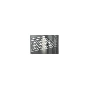 Полка-решётка для холодильных столов серии BN (500), полимерное покрытие белого цвета