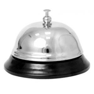 Кнопка-звонок D 8,4 см h 6, нерж.сталь