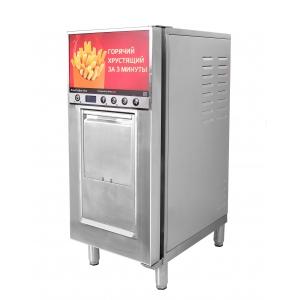 Фритюрница-автомат электрическая, 12кг/ч, 6.5л фритюра, 1 корзина, настольная, нерж.