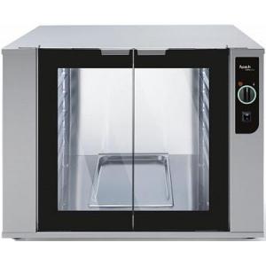 Шкаф расстоечный, 12GN1/1(EN), 2 двери распашные стекло, +60С, нерж.сталь, 220V, электромех.упр., увлажнение