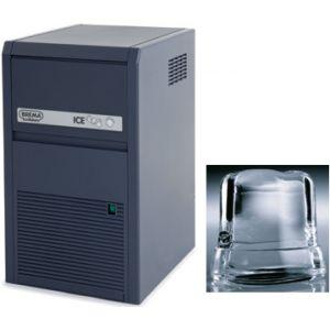 Льдогенератор для кускового льда,  21кг/сут, бункер 4.0кг, вод.охлаждение, корпус пластик ABS, форма «кубик» D