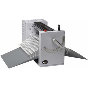 Тестораскатка электрическая настольная, длина роликов 495мм, управление ручное, зазор 0,1-28мм, сталь окраш., скорость фиксированная, 380В