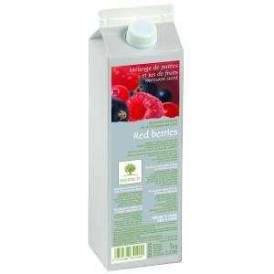 Пюре Красные ягоды Ravifruit 1 кг