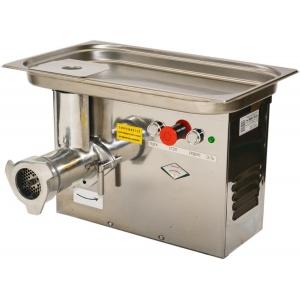 Мясорубка электрическая настольная, 150кг/ч, корпус нерж.сталь, 220V, полный унгер нерж.сталь, реверс