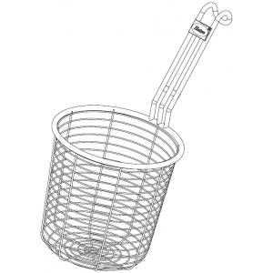 Корзина для макароноварки RCTHW, цилиндрическая, ручка нерж.сталь
