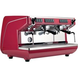 Кофемашина-автомат, 2 группы (выс.), бойлер 11л, красная, 220V, экономайзер