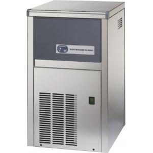 Льдогенератор для кускового льда,  22кг/сут, бункер 4.0кг, вод.охлаждение, корпус нерж.сталь, форма «кубик» S
