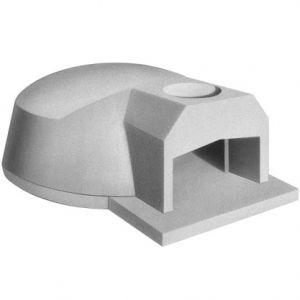 Печь дровяная, 1 камера, под 1.13м2 камень сегментированный, термометр, купол камень, дверь сталь