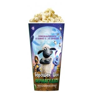 V 24 Стакан для попкорна «Барашек Шон: Фермагеддон»