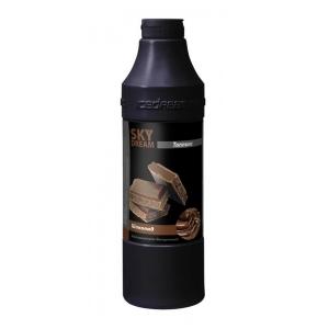 Топпинг для мороженого и десертов SKY DREAM Шоколад бутылка чёрная 1,2кг
