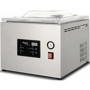 Машина для вакуумной упаковки, настольная, 1 камера 332х335х170мм, электронное управление, 1 шов 310мм, насос 8м3/ч, газ