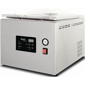 Машина для вакуумной упаковки, настольная, 1 камера 343х434х175мм, электронное управление, 1 шов 310мм, насос 8м3/ч, газ