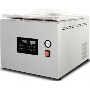 Машина для вакуумной упаковки, настольная, 1 камера 343х434х175мм, электронное управление, 1 шов 310мм, насос 12м3/ч, газ