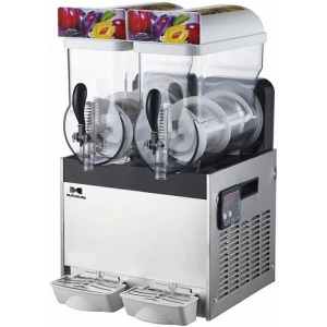 Аппарат для замороженных напитков (гранитор), 2 ванны по 15л, электронный термостат