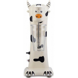 Миксер для коктейлей, 1 рожок, стакан 0.7л в комплекте, дизайн «корова»
