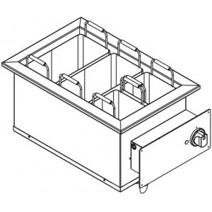 Макароноварка электрическая, 1 ванна 22л, встраиваемая