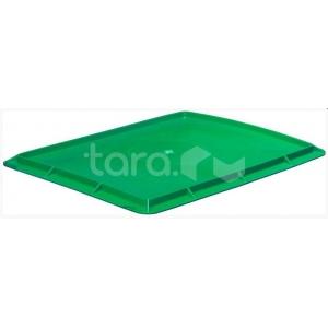 Крышка для ящика L 53см w 40см h 2,7см, пластик зеленый