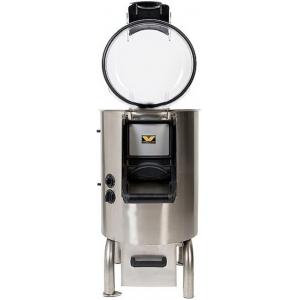 Картофелечистка электрическая, напольная, загрузка 10кг, 300кг/ч, корпус нерж.сталь, 220V