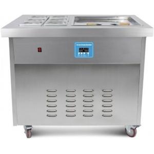 Стол для мгновенной заморозки мороженого, 1050х750х880мм, пов.морозильная 520х520х20мм, колеса, -25/-35С, 6 охл.лотков, 2 компрессора: Panasonic+Sikel