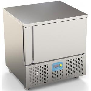 Шкаф шоковой заморозки/охлаждения,  5GN1/1, агрегат воз.охл., загрузка 7/10кг, эл.упр., щуп, ножки, дин.охл.