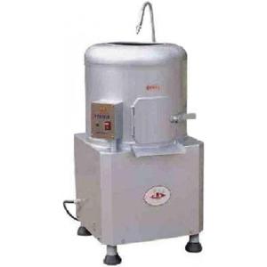 Картофелечистка электрическая, напольная, загрузка  8кг, 240кг/ч, корпус нерж.сталь, 220V