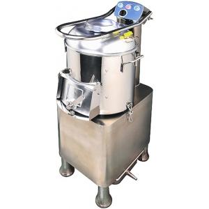 Картофелечистка электрическая, напольная, загрузка 30кг, 400кг/ч, корпус нерж.сталь, 220V