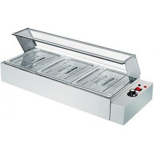 Мармит электрический, 1 ванна 3GN1/2, настольный, нерж.сталь, нагрев «парового» типа