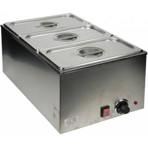 Мармит электрический, 1 ванна 3GN1/3, настольный, нерж.сталь, нагрев «парового» типа