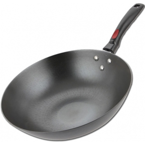 Сковорода WOK, для плиты Wok, D350мм, чугун