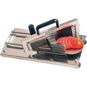 Овощерезка-слайсер механическая для томатов, настольная, срез 4.0мм, нерж.сталь, горизонтальная резка