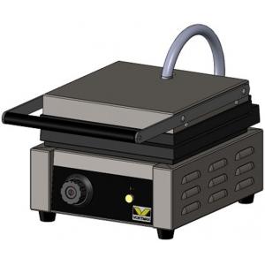 Вафельница электрическая настольная для вафель «бельгийских», 1 поверхность квадратная чугун, 2 сегмента, упр.электромех.