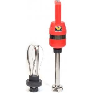 Блендер/миксер ручной,  30л, 2000-15000 об/мин, штанга 300мм, красный