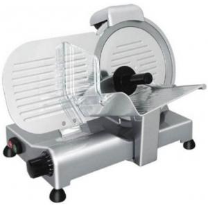 Слайсер электрический наклонный, D ножа 220мм, корпус алюминий, устройство заточное фиксированное, полуавтоматический