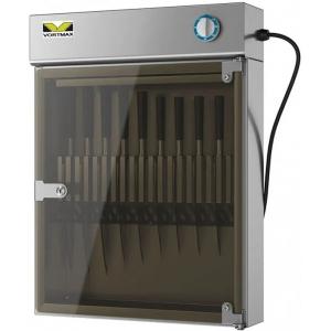 Стерилизатор ножей ультрафиолетовый, вместимость 18шт., настенный, 1 дверь стекло