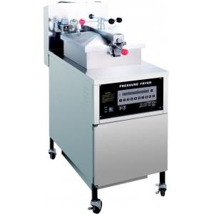 Фритюрница электрическая под давлением, 1 ванна 24л, напольная, электрон.упр., фильтрация