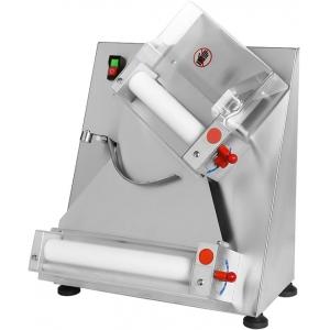 Тестораскатка электрическая настольная, длина роликов 300мм, управление ручное, ролики наклонные, зазор 0.7-5.4мм, нерж.сталь