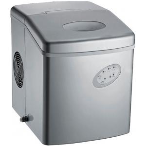 Льдогенератор для кускового льда,  15кг/сут, бункер 1.1кг, возд.охлаждение, корпус пластик, форма «пальчик», настольный, заливной