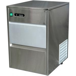 Льдогенератор для кускового льда,  20кг/сут, бункер 4.0кг, возд.охлаждение, корпус нерж.сталь, форма «пальчик»