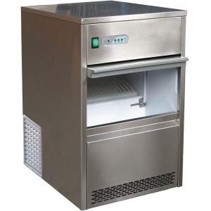 Льдогенератор для кускового льда,  26кг/сут, бункер 6.0кг, возд.охлаждение, корпус нерж.сталь, форма «пальчик»