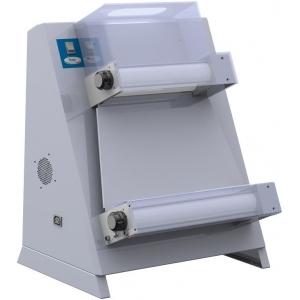 Тестораскатка электрическая настольная, длина роликов 420мм, управление ручное, ролики параллельные, зазор 1-4мм, нерж.сталь