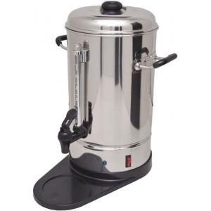 Водонагреватель гейзерный для приготовления чая или кофе,  6л, нерж.сталь