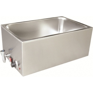 Мармит электрический, 1 ванна 1GN1/1, настольный, нерж.сталь, нагрев «парового» типа