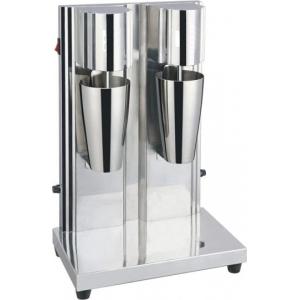 Миксер для коктейлей, 2 рожка, 2 стакана в комплекте, нерж.сталь