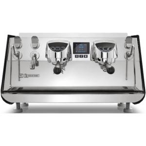 Кофемашина-автомат, 2 группы, мультибойлерная, черная матовая, подсветка, 380V