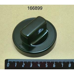 Ручка черная для газовых кранов Ø 70 мм