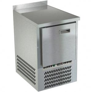 Стол морозильный, GN2/3, L0,57м, борт H50мм, 1 дверь глухая, ножки, -10/-18С, нерж.сталь, дин.охл., агрегат нижний