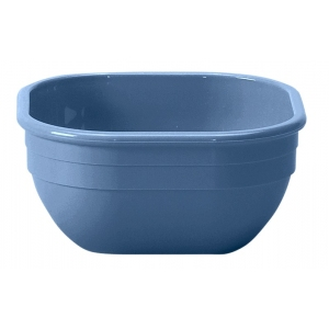 Салатник квадратный L 10,2см w 10,2см h 4,8см 278мл, синевато-черный поликарбонат